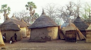 Burkina Faso traditional home