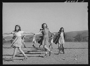 Children Playing 1941