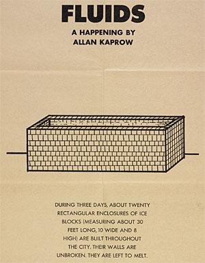 Allan kaprow essays on the blurring
